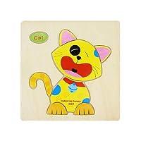 POOM1 pc 木製 3D パズルジグソーパズル木のおもちゃ漫画の動物のパズル · インテリジェンス · 子供の子供教育玩具