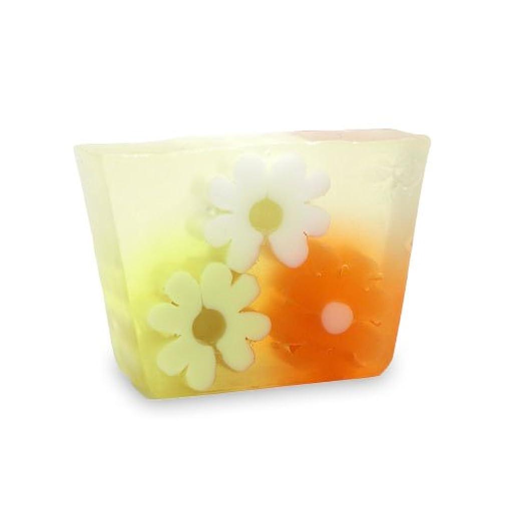是正準拠熱狂的なプライモールエレメンツ アロマティック ミニソープ オレンジフラワーショップ 80g 植物性 ナチュラル 石鹸 無添加