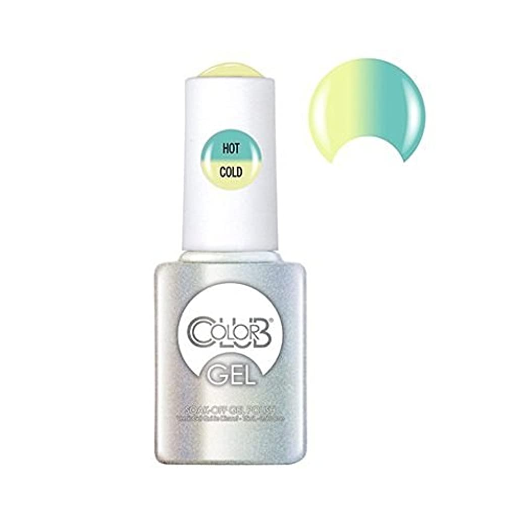 適度なヒロイン時間とともにColor Club Gel Polish - Shine Theory - 0.5oz / 15ml