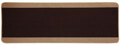 イケヒコ キッチンマット 『ピレーネ』 ブラウン 約44×180cm 2025020 1枚