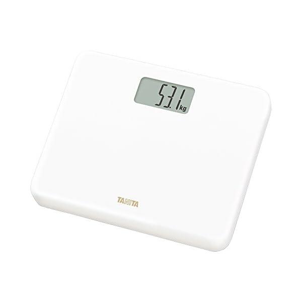 タニタ 体重計 小型 ホワイト HD-660 W...の商品画像