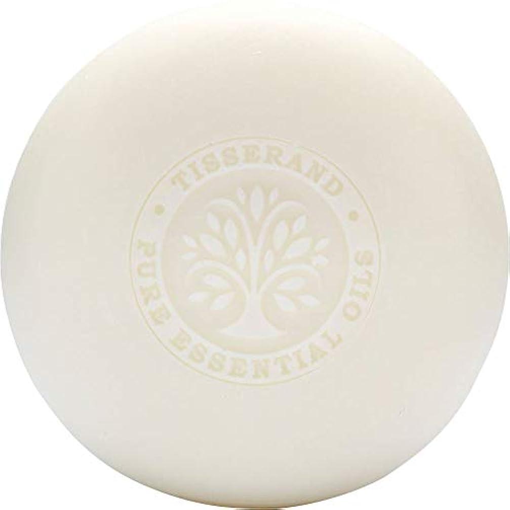 憂慮すべき蛇行ラジウム[Tisserand] ティスランドローズ&ゼラニウムの葉石鹸100グラム - Tisserand Rose & Geranium Leaf Soap 100g [並行輸入品]
