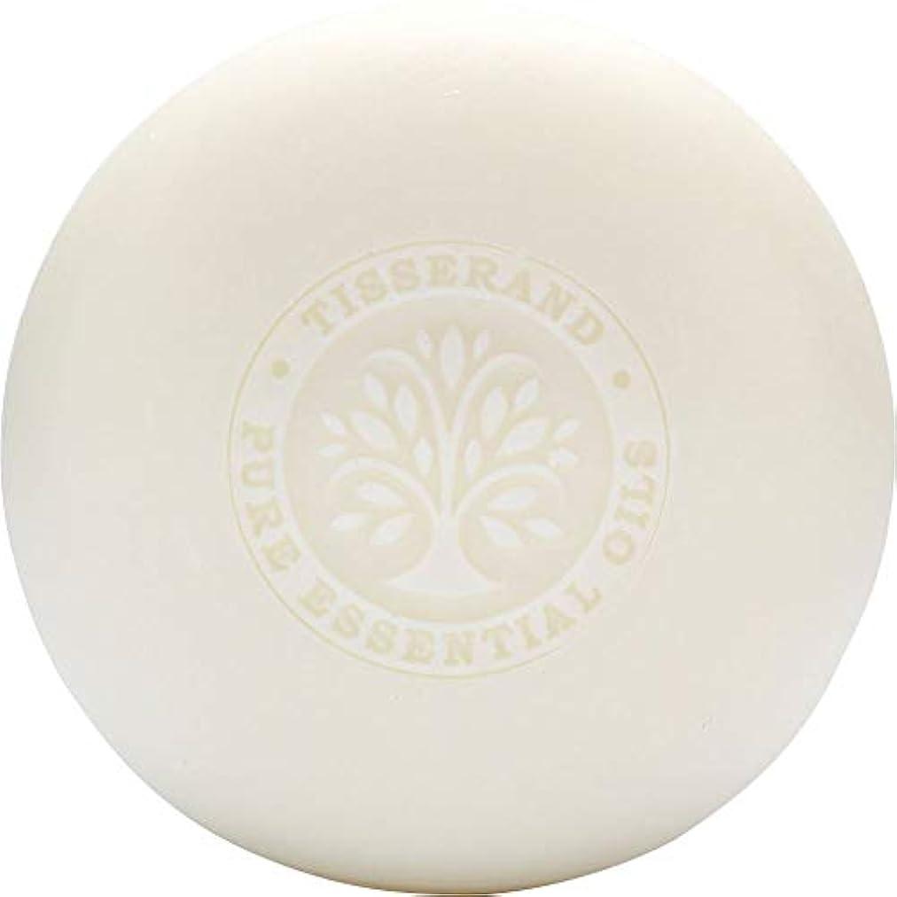 ただやる年齢イヤホン[Tisserand] ティスランドローズ&ゼラニウムの葉石鹸100グラム - Tisserand Rose & Geranium Leaf Soap 100g [並行輸入品]