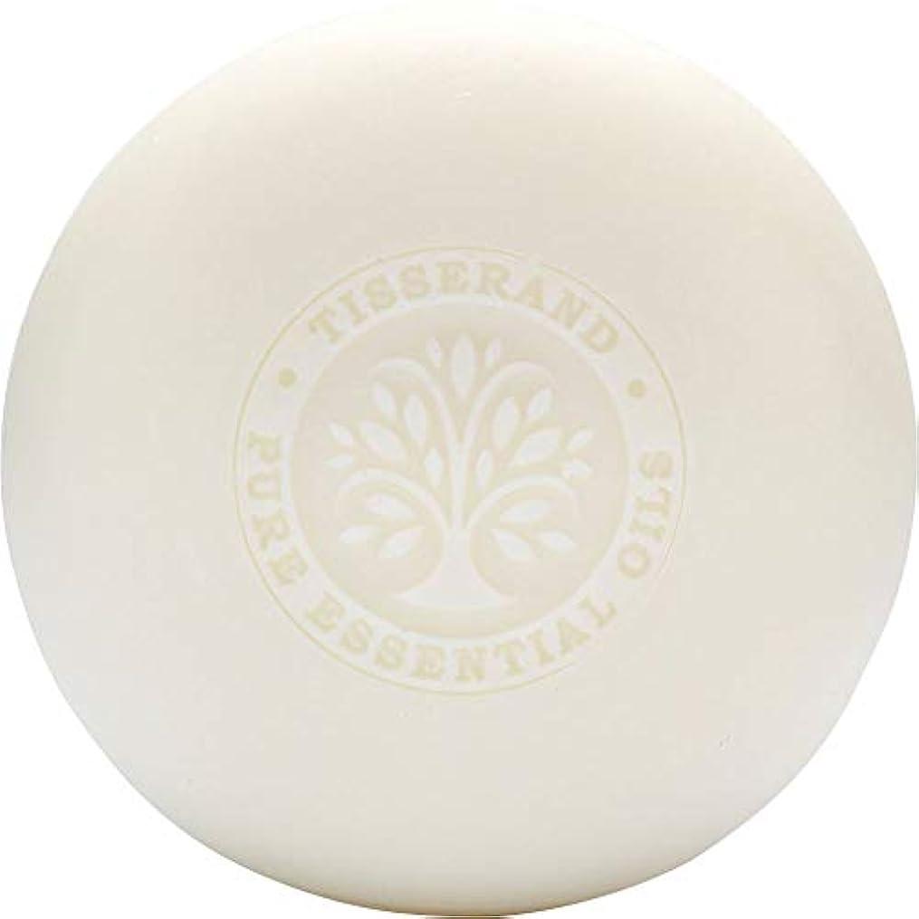 牧草地持続するゾーン[Tisserand] ティスランドローズ&ゼラニウムの葉石鹸100グラム - Tisserand Rose & Geranium Leaf Soap 100g [並行輸入品]