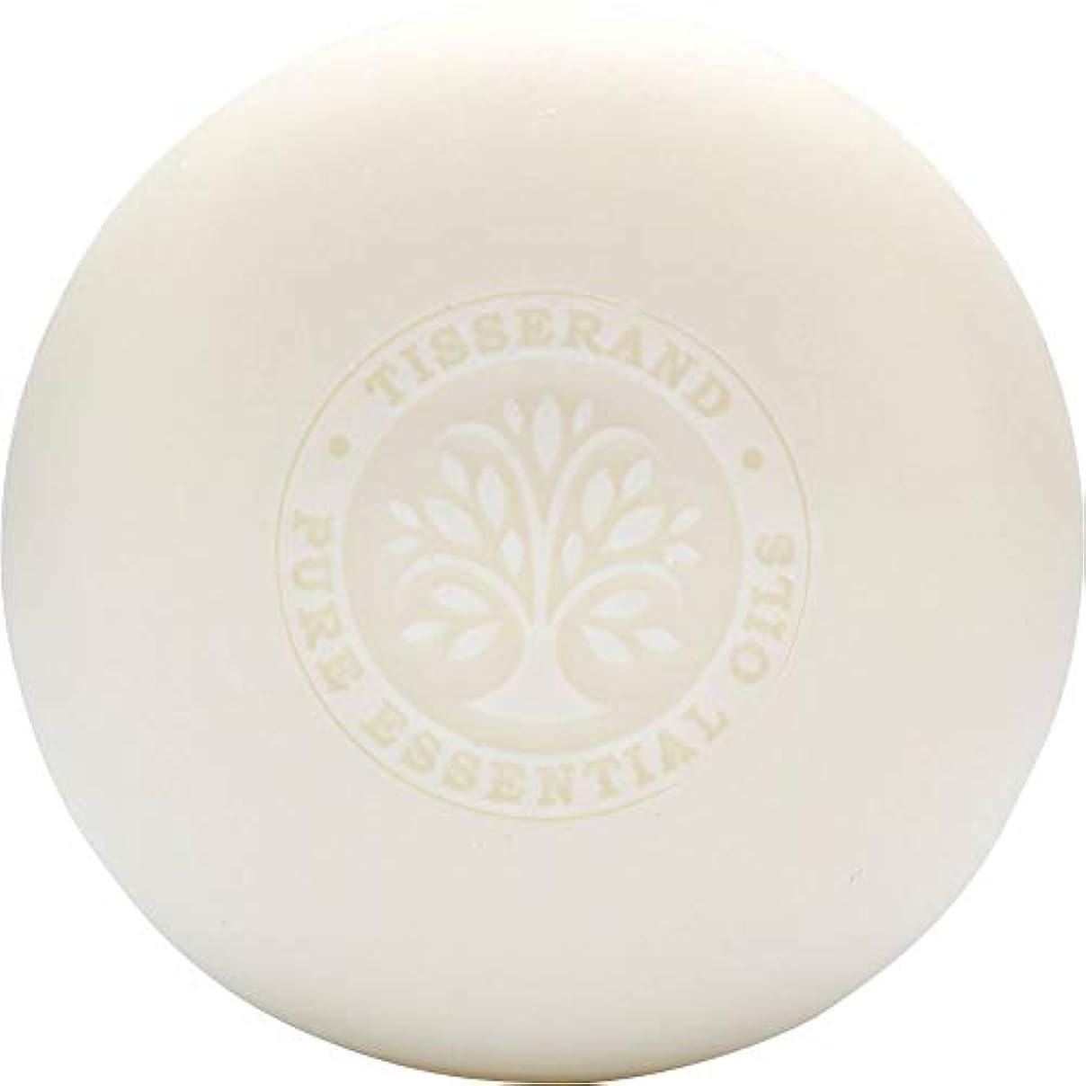 競う抽出びっくりする[Tisserand] ティスランドローズ&ゼラニウムの葉石鹸100グラム - Tisserand Rose & Geranium Leaf Soap 100g [並行輸入品]