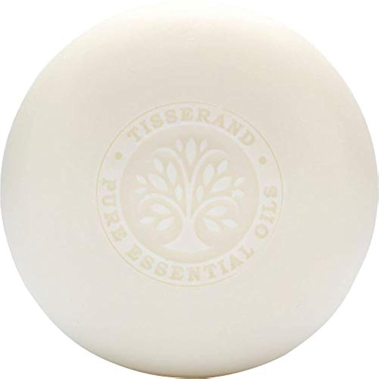 沿って後ろに航空便[Tisserand] ティスランドローズ&ゼラニウムの葉石鹸100グラム - Tisserand Rose & Geranium Leaf Soap 100g [並行輸入品]