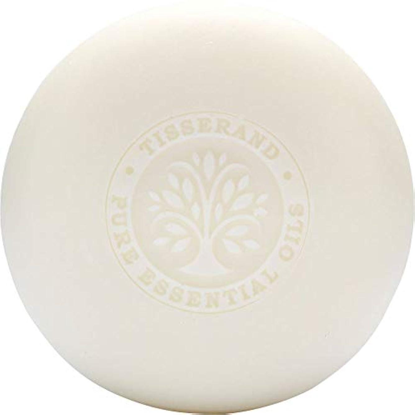 捨てるマイナーピニオン[Tisserand] ティスランドローズ&ゼラニウムの葉石鹸100グラム - Tisserand Rose & Geranium Leaf Soap 100g [並行輸入品]