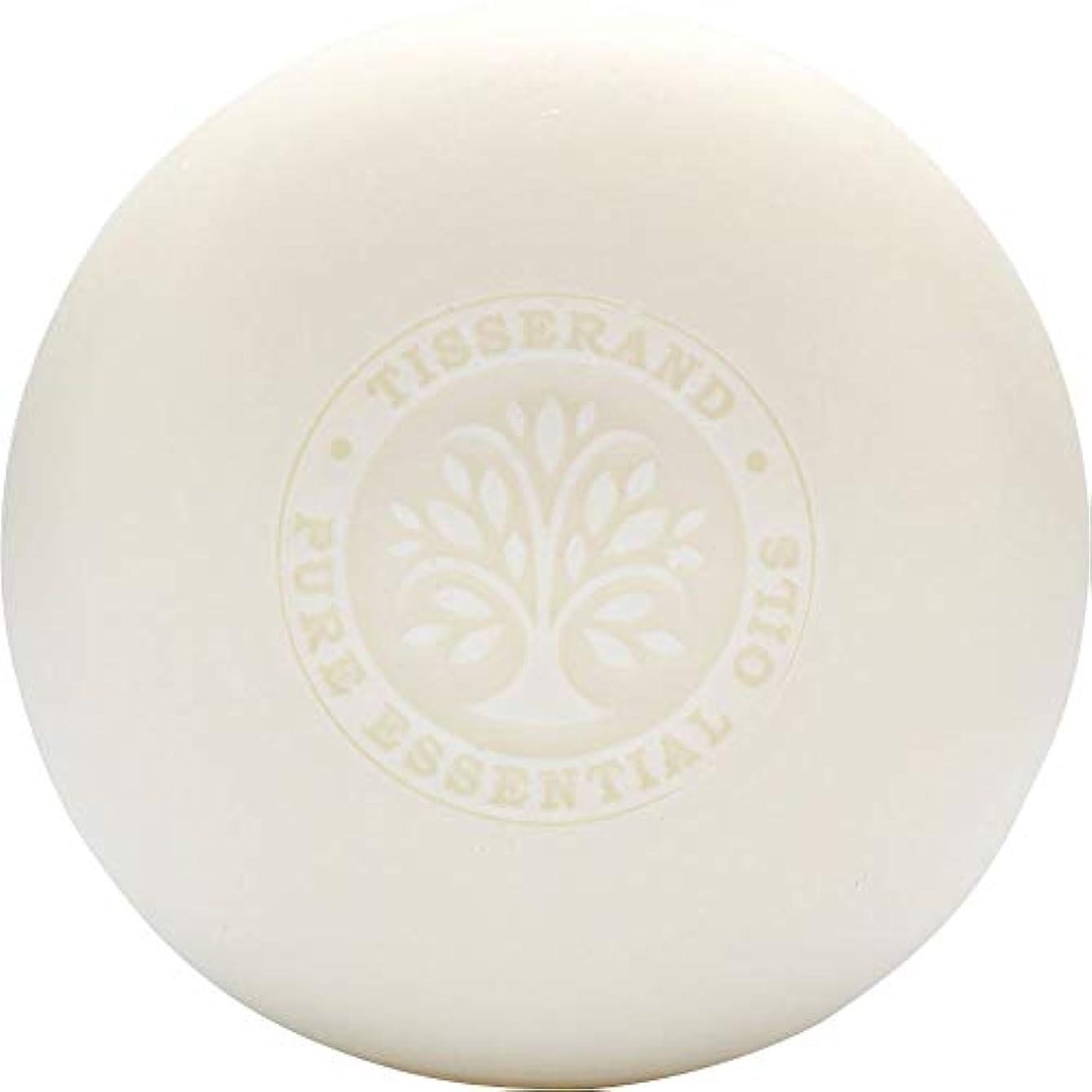 症候群斧次へ[Tisserand] ティスランドローズ&ゼラニウムの葉石鹸100グラム - Tisserand Rose & Geranium Leaf Soap 100g [並行輸入品]
