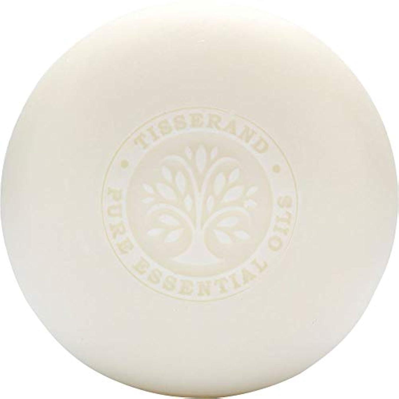 傷つきやすい病気ポケット[Tisserand] ティスランドローズ&ゼラニウムの葉石鹸100グラム - Tisserand Rose & Geranium Leaf Soap 100g [並行輸入品]