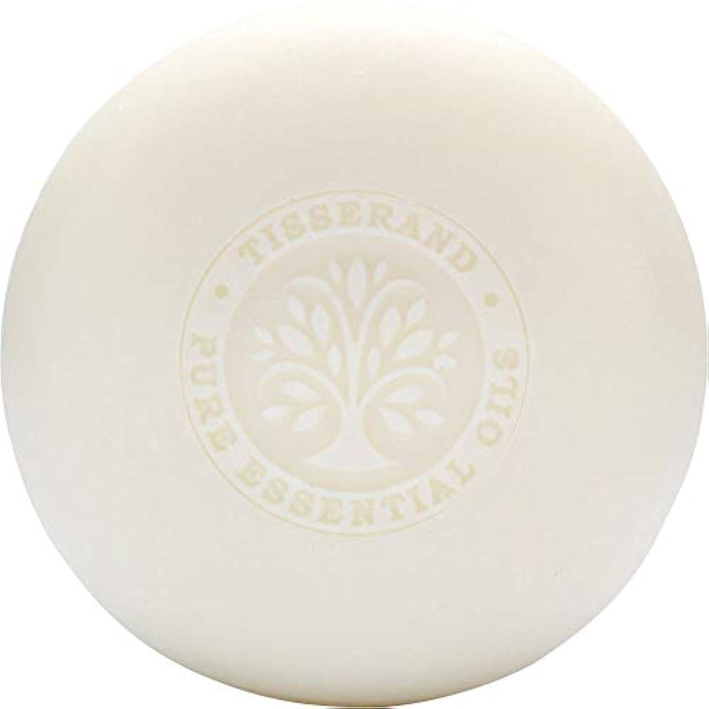 豆ステッチトーン[Tisserand] ティスランドローズ&ゼラニウムの葉石鹸100グラム - Tisserand Rose & Geranium Leaf Soap 100g [並行輸入品]