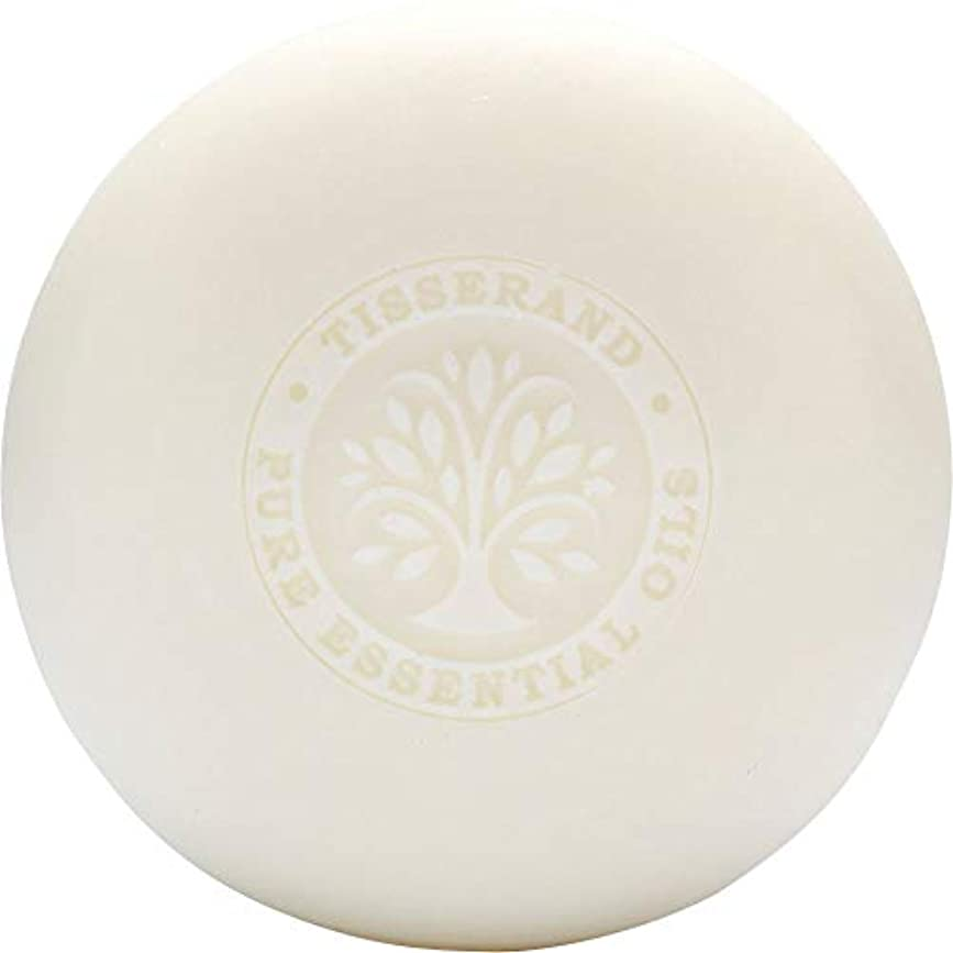 [Tisserand] ティスランドローズ&ゼラニウムの葉石鹸100グラム - Tisserand Rose & Geranium Leaf Soap 100g [並行輸入品]