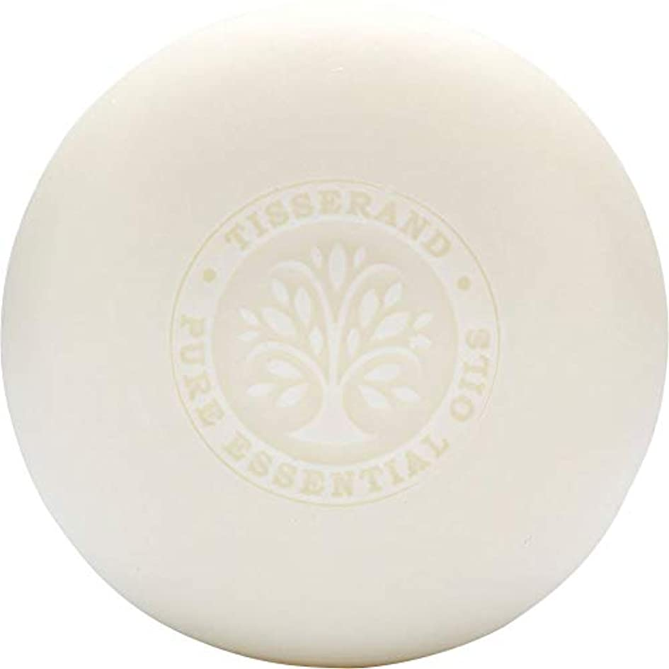 重要な細分化する強化[Tisserand] ティスランドローズ&ゼラニウムの葉石鹸100グラム - Tisserand Rose & Geranium Leaf Soap 100g [並行輸入品]