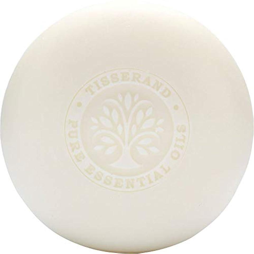 粘性の野心的自分を引き上げる[Tisserand] ティスランドローズ&ゼラニウムの葉石鹸100グラム - Tisserand Rose & Geranium Leaf Soap 100g [並行輸入品]