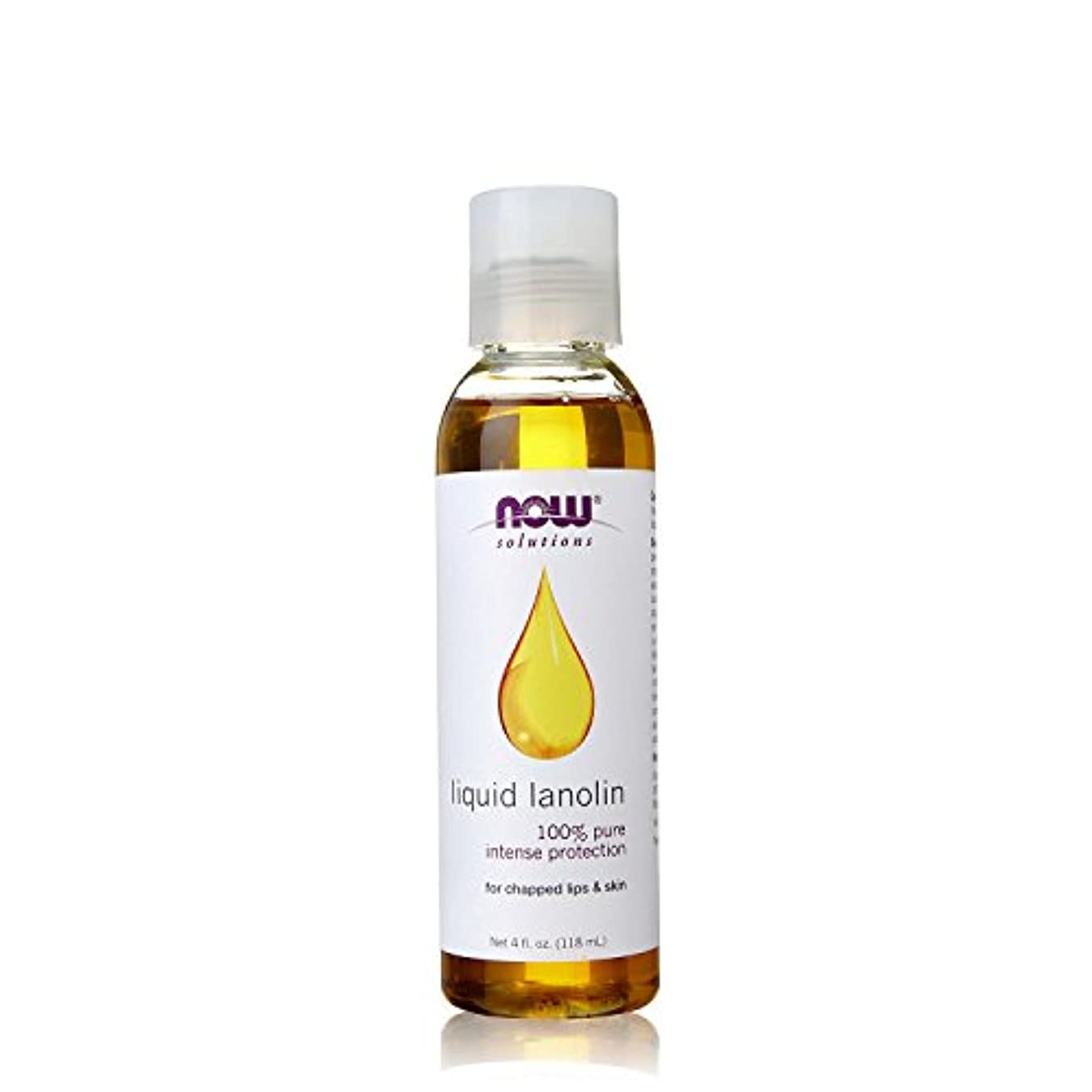パッケージ環境に優しい中央値NOW Foods - 液体のラノリン 100% Pureの - 4ポンド [並行輸入品]