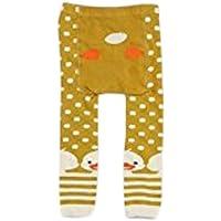 0165b14e60b2b Plus Nao(プラスナオ) 子供用 赤ちゃん用 タイツ ベビー アニマルデザイン カラータイツ スパッツ