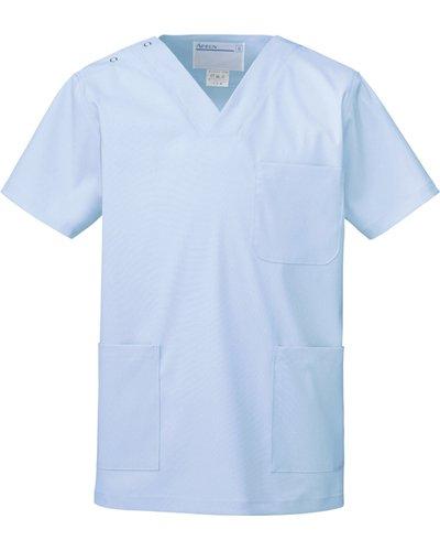 [해외]카젠 (구 아뿌론) 1339 스크럽 남녀 공통 외과 용 가운   운영 입고 반팔 SS-4L 진찰 가운/Kazen (old Apron) 1339 · Scrub unisex surgical garment   short sleeve for operation SS-4L examination clothes