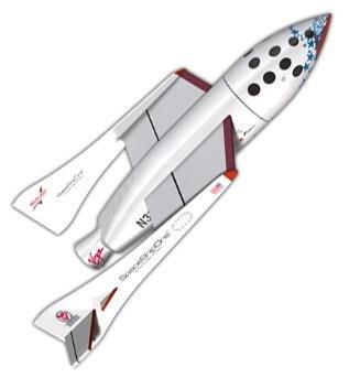 エステス 2191 Xプライズ スペース シップ ワン モデルロケット 組み立てキット