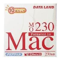 イーサプライズ データランド MO 230MB MACフォーマット 10枚パック DLMO-230MP10