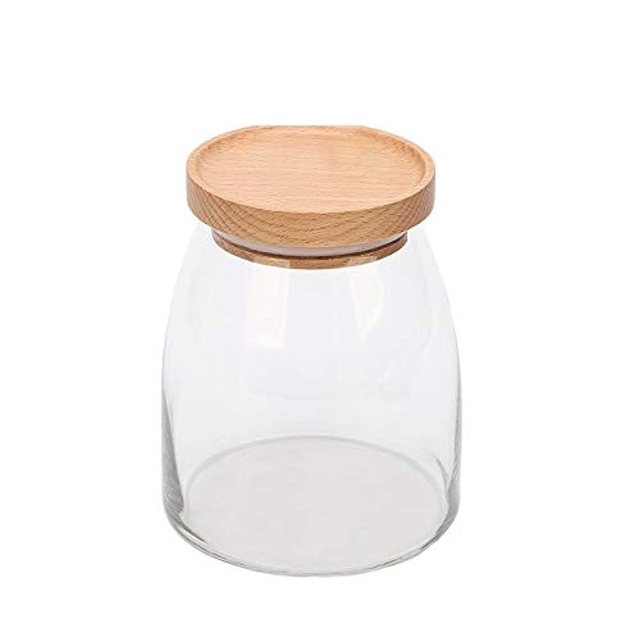 基準ふくろう保育園貯蔵タンク、透明ガラス貯蔵タンク、家庭用食品、茶瓶