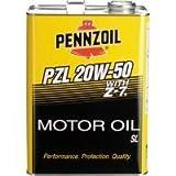 ペンズオイル PZL 20W-50 SL 鉱物油 4L×1