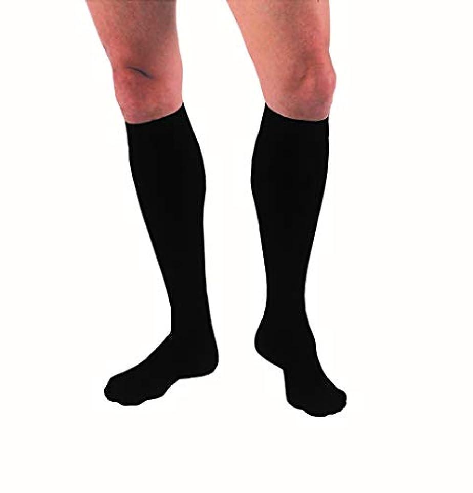失礼矢脱走海外直送品Jobst Supportwear Socks For Men Knee High Black-X-Large, 1 each by Jobst