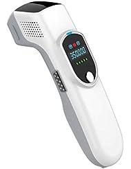 女性と男性のためのIPL脱毛システム、パーマネントレーザー痛みのない脱毛器、35000フラッシュ、ボディ、フェイス、脇の下、ビキニラインホームユース