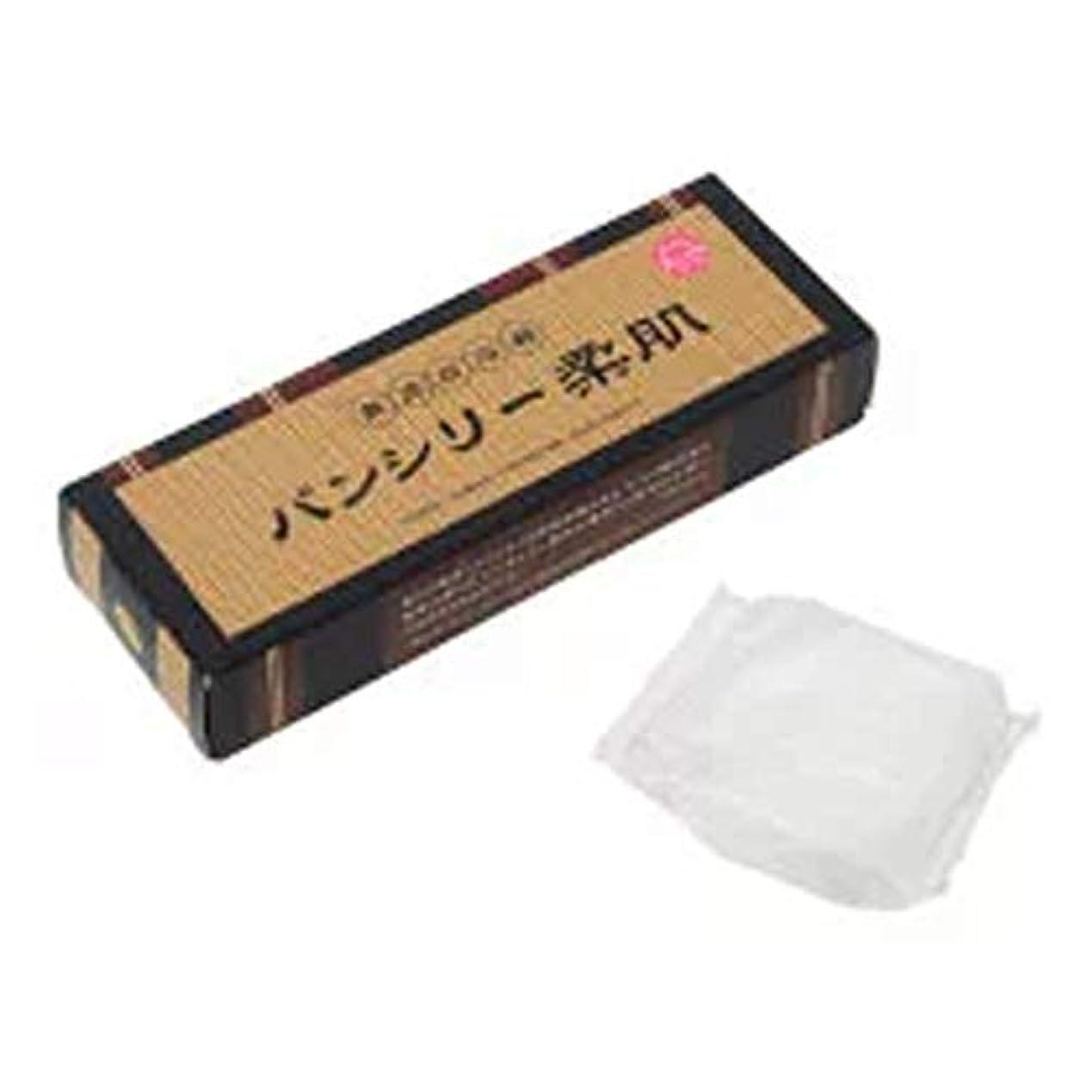 同化する主観的モットーパンシリー柔肌 60g×3個 石鹸 せっけん 渋柿 コンフリー コラーゲン ヒアルロン酸