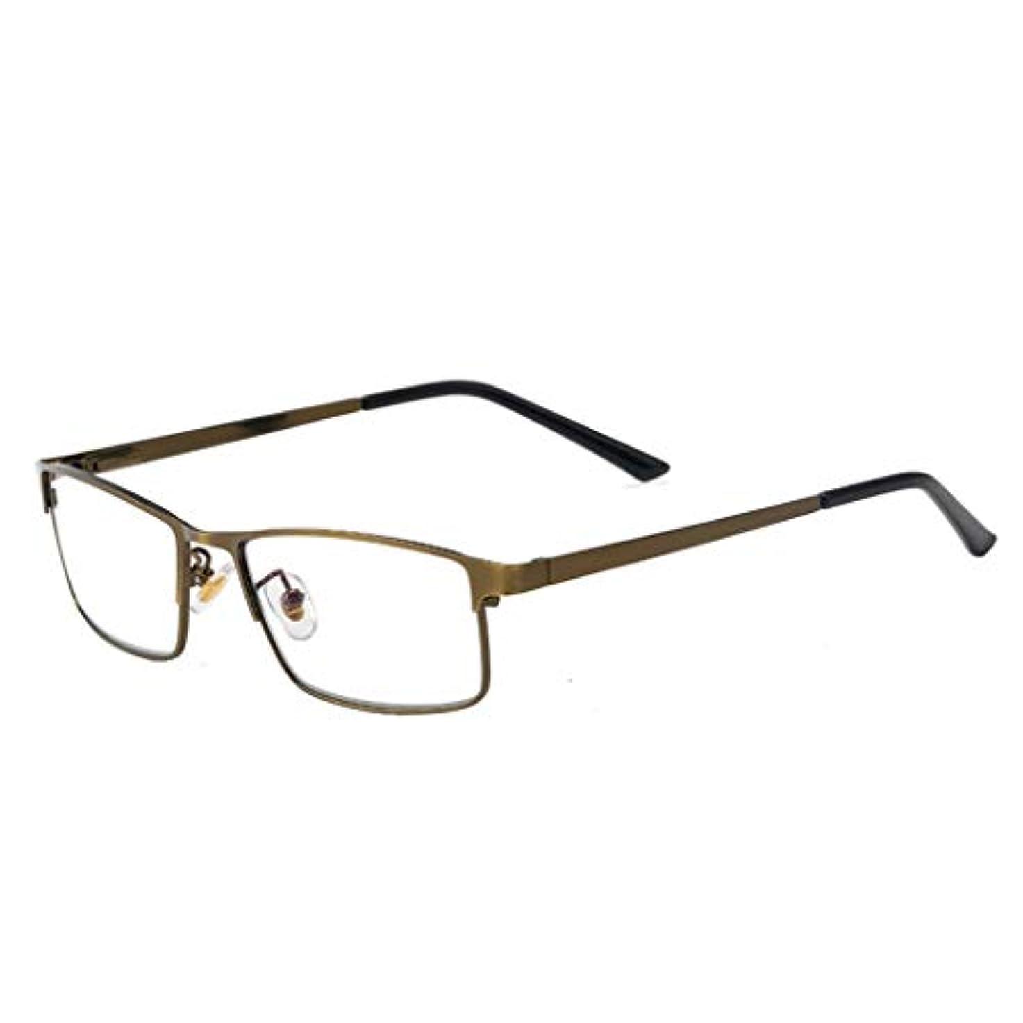 レコーダー成長する悪化させる老眼鏡軽量アンチ眼精疲労UVフィルターレンズ軽量フレーム眼鏡、スプリングアームリーダーユニセックス男性/女性