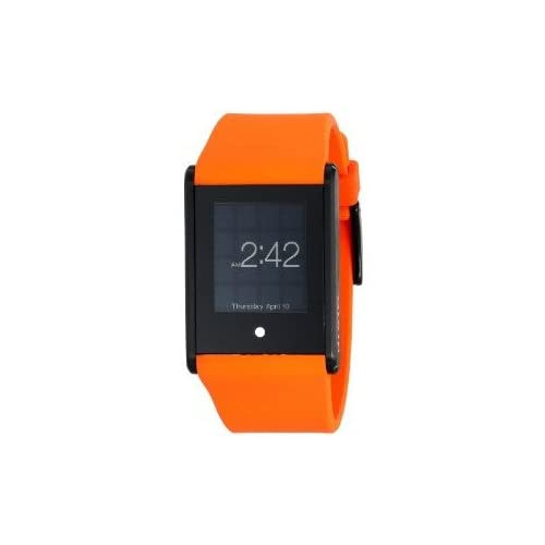 腕時計 Phosphor Unisex TT01 Touch Time Digital Display Quartz Orange Watch【並行輸入品】