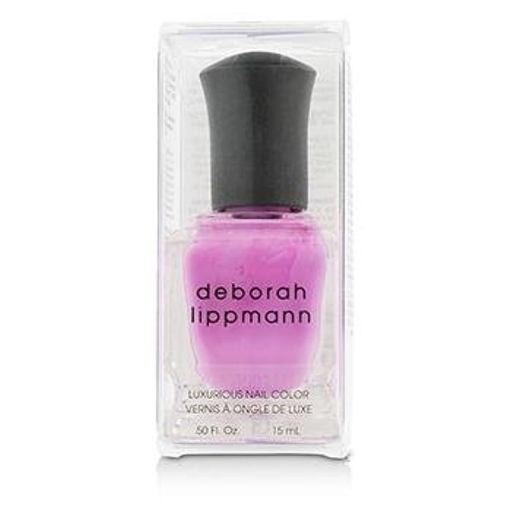 配管工チャート課す【deborah lippmann】【デボラリップマン】ポリッシュ ピンク系 15mL (シーボップ)