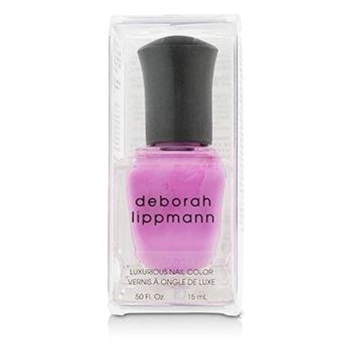 ジーンズ高速道路におい【deborah lippmann】【デボラリップマン】ポリッシュ ピンク系 15mL (シーボップ)