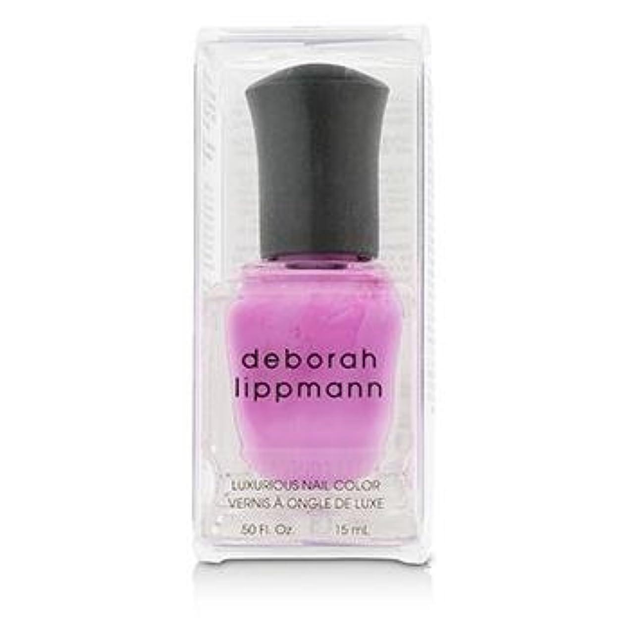九時四十五分脇に悲観的【deborah lippmann】【デボラリップマン】ポリッシュ ピンク系 15mL (シーボップ)