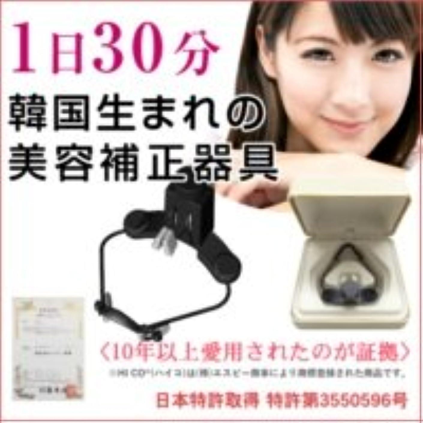 に付けるもろい内訳HICO 美鼻補正器具