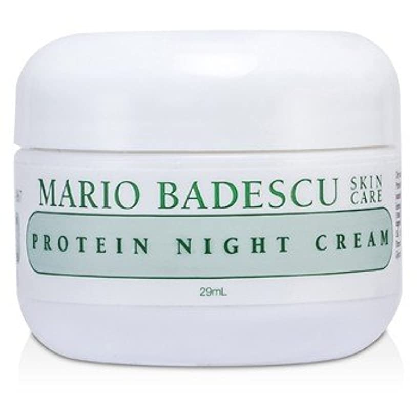 グローバル忠誠眠る[Mario Badescu] Protein Night Cream - For Dry/ Sensitive Skin Types 29ml/1oz