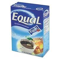 Equal Sweetenerパケット、ボックス1Gパケット、115/ボックス、12/カートン