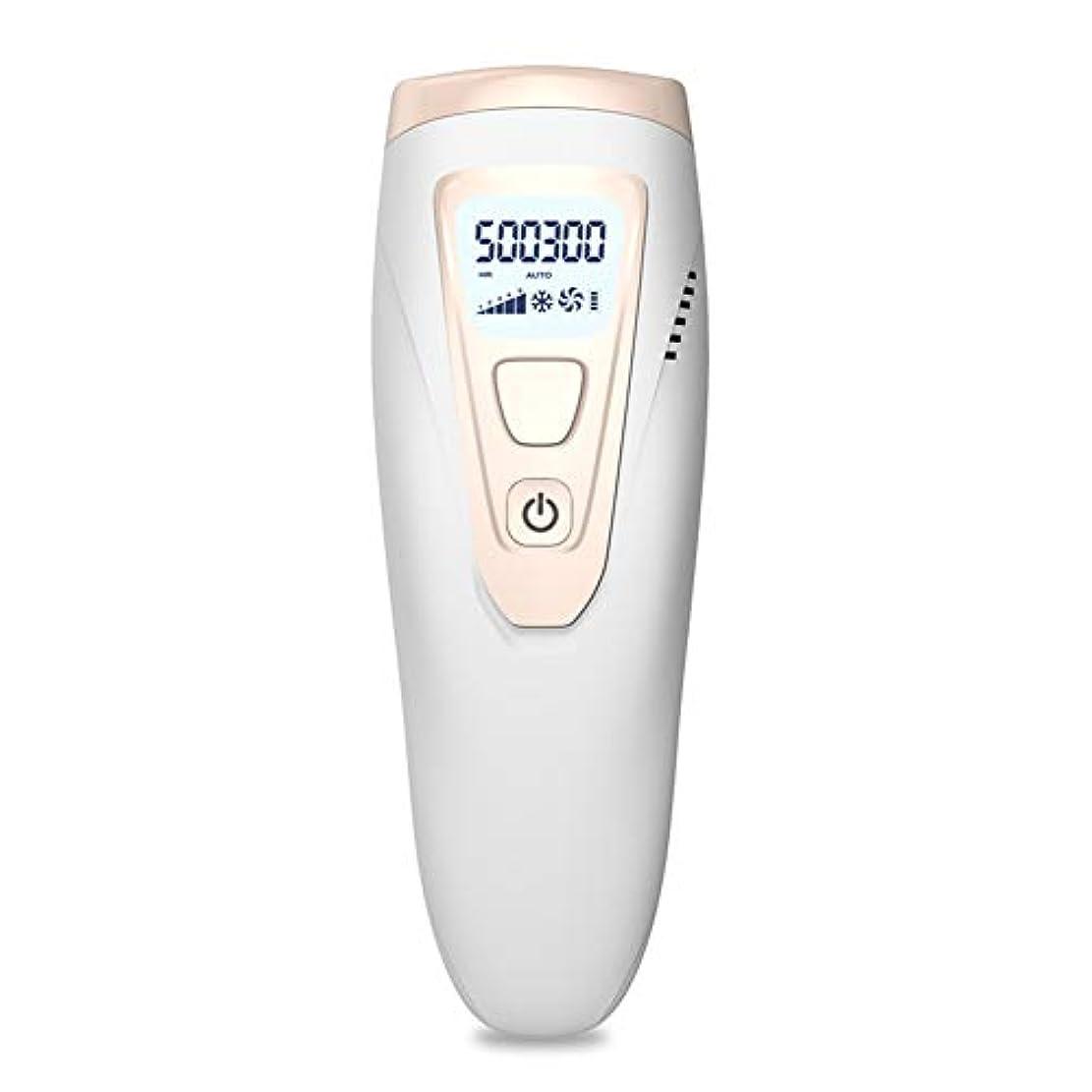 摂動一般的に報いるアイスクールIPLレーザー脱毛システム50万回のフラッシュ無痛常設パルス光脱毛器デバイス、にとってボディフェイス脇の下ビキニライン
