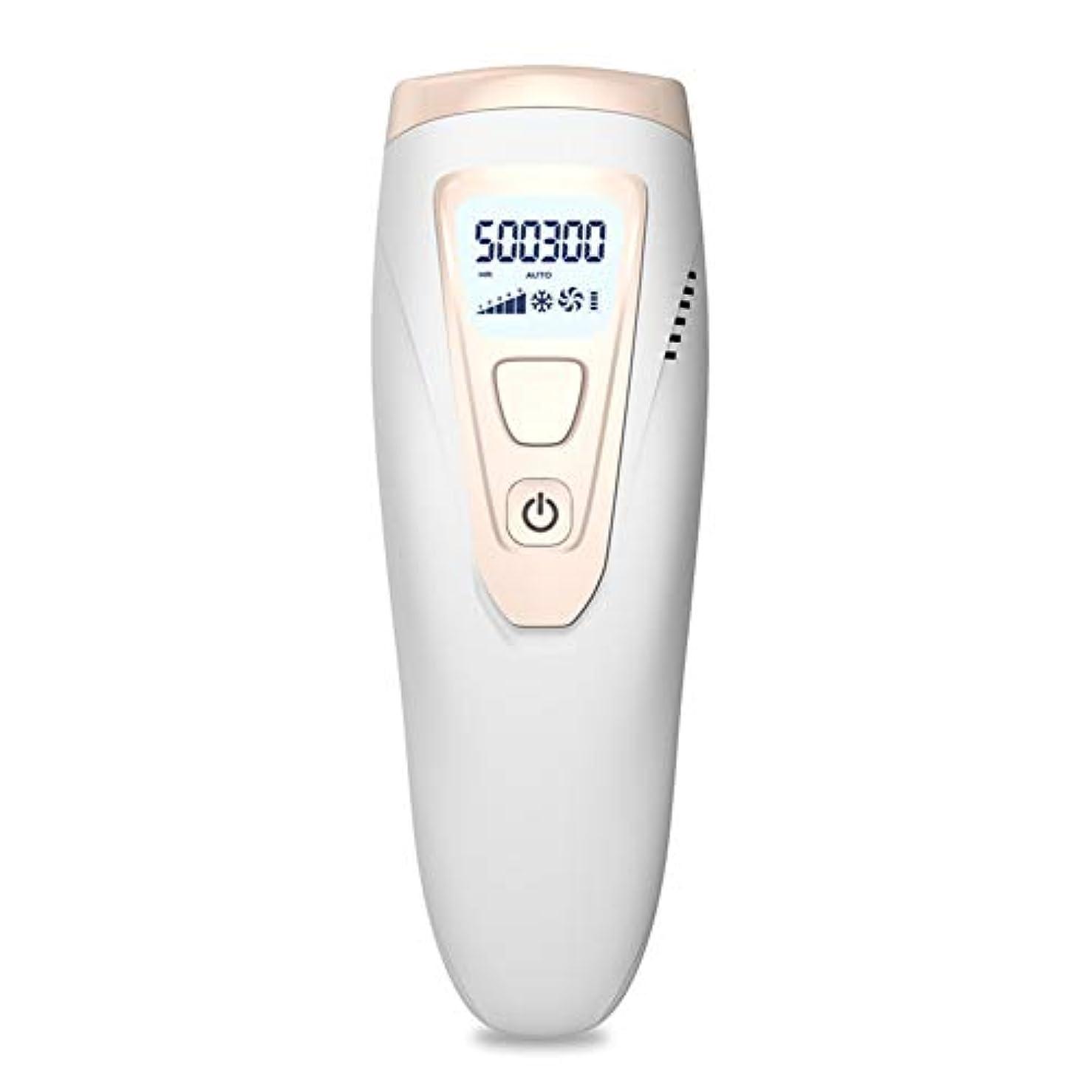 剃るパターンねばねばアイスクールIPLレーザー脱毛システム50万回のフラッシュ無痛常設パルス光脱毛器デバイス、にとってボディフェイス脇の下ビキニライン