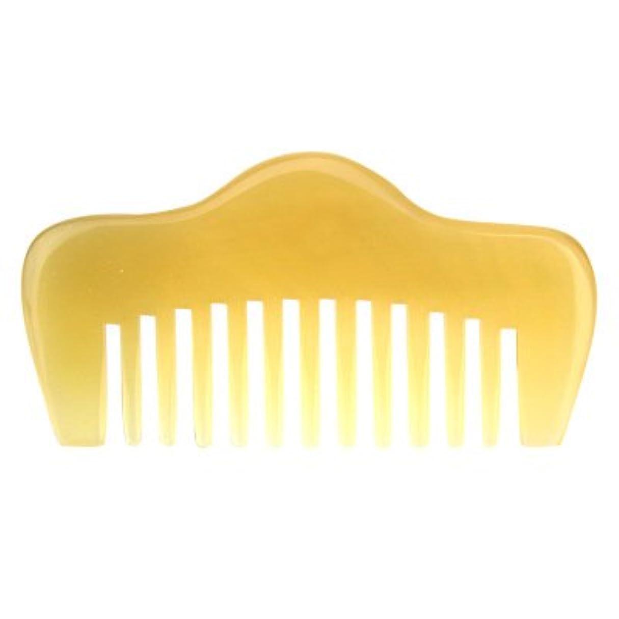 プロも使う羊角かっさプレート 羊櫛 高級 天然 静電気 防止 美髪 粗歯 櫛型 美顔 ボディ リンパマッサージ