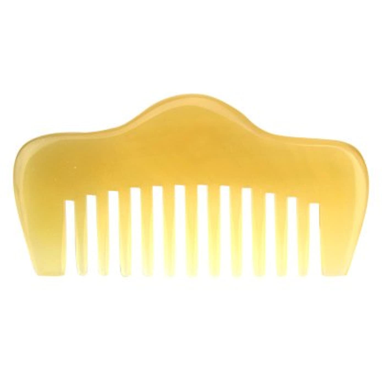 不良膨らみマニフェストプロも使う羊角かっさプレート 羊櫛 高級 天然 静電気 防止 美髪 粗歯 櫛型 美顔 ボディ リンパマッサージ