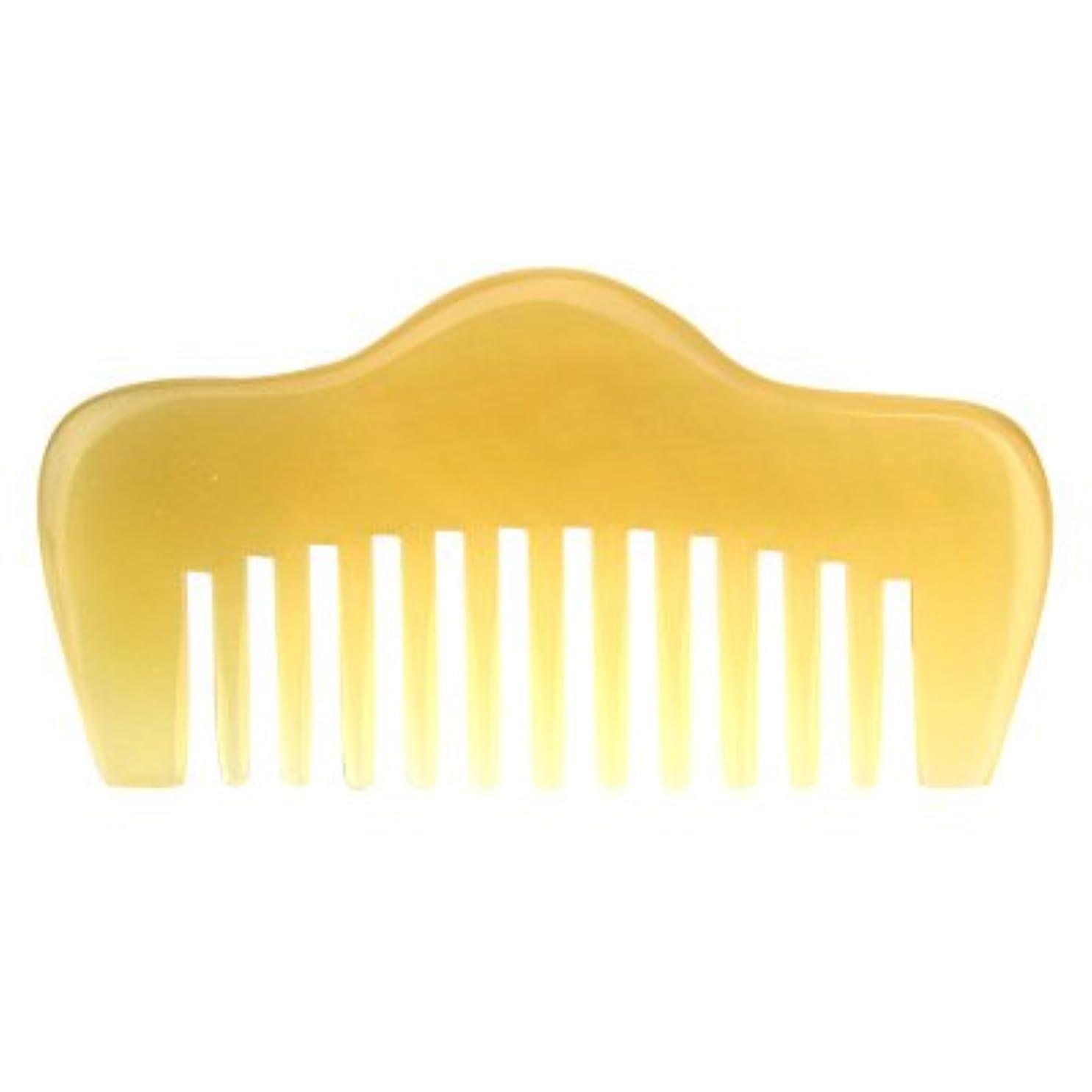 座る歯科医ゴミ箱プロも使う羊角かっさプレート 羊櫛 高級 天然 静電気 防止 美髪 粗歯 櫛型 美顔 ボディ リンパマッサージ