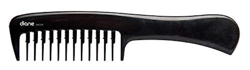 慰め結婚マークDiane Wide Tooth Shampoo Comb [並行輸入品]