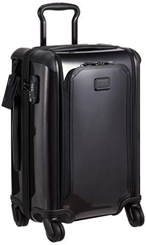 [トゥミ] スーツケース 公式 正規品 Tegra Lite Max インターナショナル・エクスパンダブル・キャリーオン 機内持ち込み可 保証付 55L 56 cm 9.4kg Black/Black