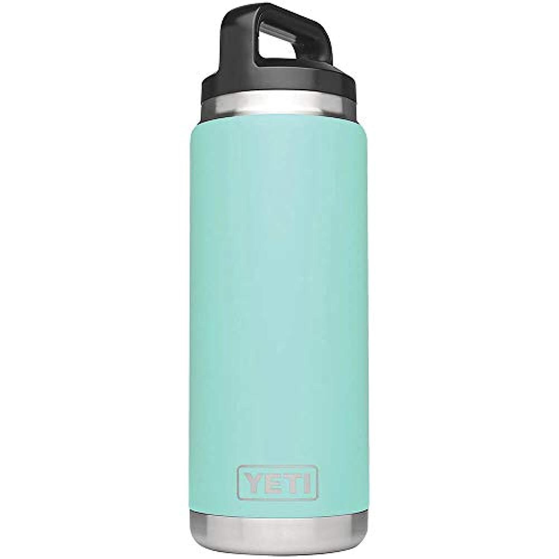 依存する広範囲悪性YETI Rambler ランブラー タンブラー 26oz Vacuum Insulated Stainless Steel Bottle with キャップ Seafoam
