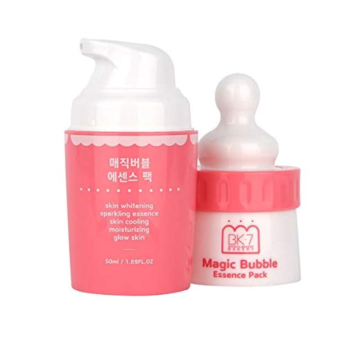 ファイバご意見労苦★再入荷★発売3週間で売り切れ★マジックバブルエッセンスパック for WHITE Magic Bubble Essenve Pack for WHITE / 洗い流さなくてもいい炭酸パック/炭酸パック/バブルパック