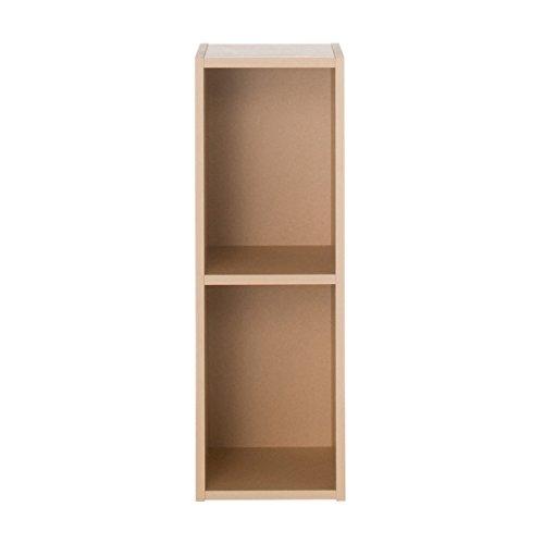 無印良品 パルプボードボックス・スリム・2段/ベージュ 幅25×奥行29×高さ73cm 日本製