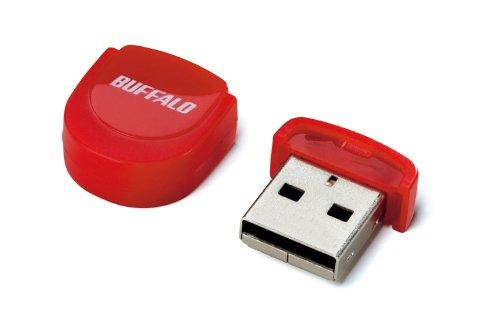 BUFFALO マイクロUSBメモリー レッド 2GB RUF2-PS2G-RD