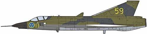 1/48 S35E/RF-35 ドラケン 偵察飛行隊 09872