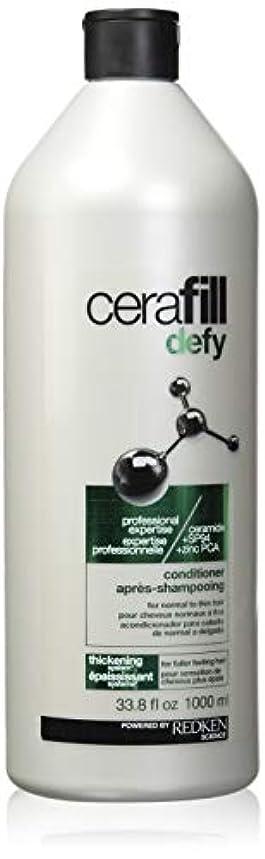 要求する天窓仮定レッドケン Cerafill Defy Thickening Conditioner (For Normal to Thin Hair) 1000ml