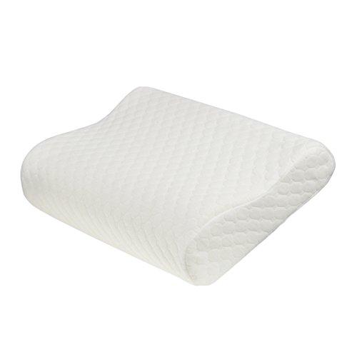 TAMPOR 枕 低反発人間工学設計 ストレス緩和 米国認証CertiPUR-US取得健康枕 非温感メモリーフォム年中ふわふわ 防湿通気抗菌 丈50cm 幅30cm