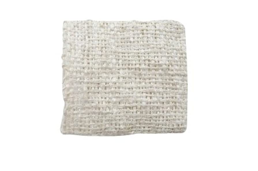 識別カールコメントきびそ(生皮苧)フェイスミトン 純国産(原糸 群馬県産) 3000デニール